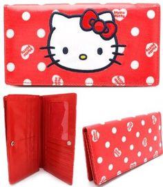 Amazon.com  Hello Kitty Red w Heart Logos 7 1 4