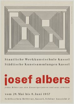 classic to contemporary graphic design and typographic work Max Bill, Josef Albers, Art Studio Design, Design Art, Bauhaus Textiles, Modern Quilting Designs, Mid Century Modern Art, Typography Poster, Illustrations And Posters