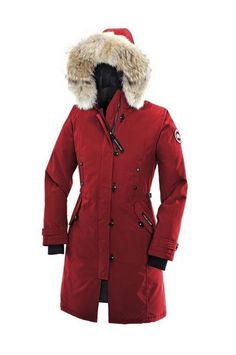 Canada Goose Kensington Parka Women Red With Fast Delivery - €246.59