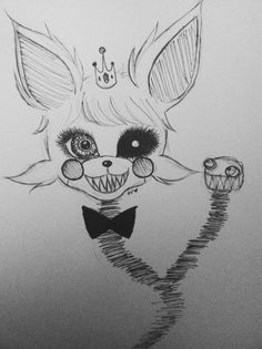 (dies repeatedly in fnaf 2 because i keep staring at princess mangle)
