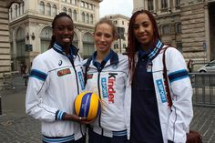 Paola Egonu, Ofelia Malinov e Sara Bonifacio.