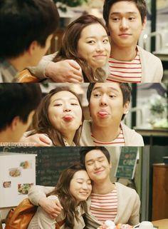 """Kim Seul-gi and Yoo Dong-Hoon  ~ """"Flower Boy Next Door"""""""