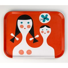 The Vitra Design Museum has launched a series of Classic Trays, featuring the designs of Charles and Ray Eames, George Nelson and Alexander Girard. Alexander Girard, Vitra Design Museum, Charles & Ray Eames, George Nelson, Design Shop, Class Design, Rockett St George, Museum Shop, Wooden Dolls
