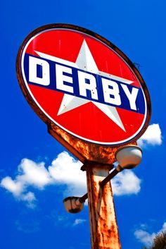 Derby Gas Station Sign... Pester, it's a gas!