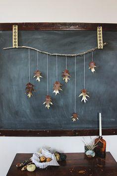 Magnolia Leaf Garland, Fall Leaf Garland, Diy Garland, Safari Party, Maple Leaf, Garland Nursery, Party Set, Party Decoration, Golden Leaves