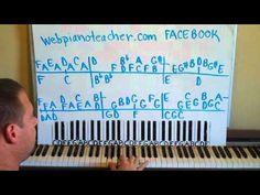 Arthur's Theme Piano Lessons