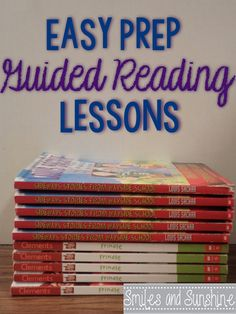 This blog offered some activities to go along with guided reading lessons, and also links to other resources.