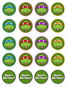 toppers tortugas ninja - Buscar con Google