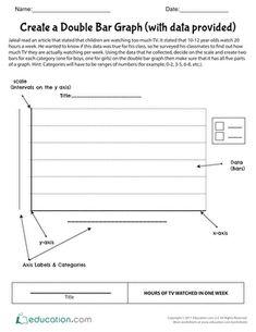 bar graphs worksheets math graphing worksheets math worksheets bar graphs. Black Bedroom Furniture Sets. Home Design Ideas