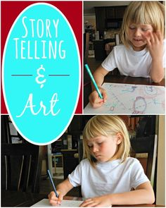 What a fun storytelling and art activity from @amomwithalessonplan (Jillian) Riley!