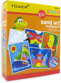 Enjoy all your favourite designs in one pack! These multipacks are the ultimate 'edutainment' product that will keep kids entertained for hours while having fun learning! Office Organisation, Sand Art, Fun Learning, Your Favorite, Puzzles, Alphabet, Have Fun, Arts And Crafts, Africa