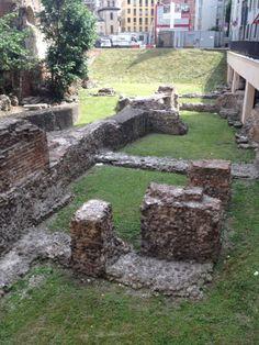 Scavi archeologici di Via Brisa - Palatium Palazzo, Ancient Rome, Roman Empire, Milano, Bella, Urban, History, Italia, Hipster Stuff
