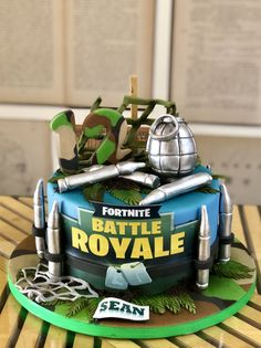 Fortnite battle royale 2019 The post Fortnite battle royale 2019 appeared first on Birthday ideas. 10 Birthday Cake, Birthday Cakes For Teens, Teen Birthday, Birthday Ideas, Teen Cakes, Cakes For Boys, Cool Cake Designs, Cake Designs For Kids, New Cake