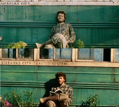 Into the Wild --- A self-portrait of Christopher McCandless in his camp on the Stampede Trail was found undeveloped in his camera after his death.