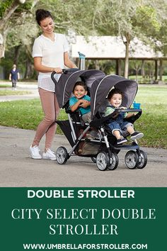 When you become a first-time parent of twins or welcoming a second child, choosing the exact double stroller can feel awesome. The sheer number of choices is enough to create anyone dizzy (or see double). The Baby Jogger City Select Double Stroller is an accepted pick due to its many configurations. City Select Double Stroller, Double Stroller Reviews, Baby Jogger City Select, Double Strollers, Baby Strollers, Large Diaper Bags, Umbrella Stroller, First Time Parents, Baby Grows