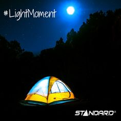 With any other lamp, it just wouldn't be the same… *The perfect light for every moment of your life.* #StandardProducts #Montreal #Toronto #Vancouver #Ottawa #Wildlife #memory #Nature #night #Moon #Scenery #LightMoment #CampingLife#instagood #followme  Cr