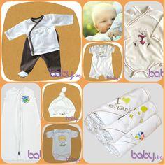 """For Babies - бебешки дрешки от органичен памук - изключително стилна визия и награда """"Сребърен лъв"""" - Произведено в България!   https://profitshare.bg/l/143861"""