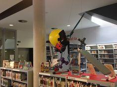 Centre d'interès d'esports de la biblioteca d'#Esparreguera. Aquest mes de maig el dediquem a esports de gimnàs. http://bibliotecavirtual.diba.cat/esports