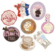 ,Disney Travel Sticker Aristocats Marie Eight Set,Collectible listed at CDJapan! Get it delivered safely by SAL, EMS, FedEx and save with CDJapan Rewards!