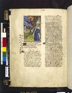 Harley 4431 fol 117v (Apollo). Paris, France 1410-1414.