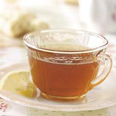 Home remedy for menstrual cramps.  Lemon Basil Tea Recipe