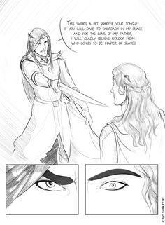 Fëanor and Fingolfin