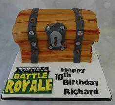 Fortnite, Battle Royale chest cake