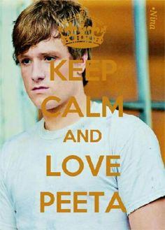 Keep Calm And .... / Hunger Games / Peeta