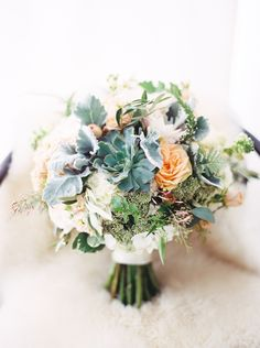 #succulent, #rose, #roses  Photography: Taylor Lord - taylorlord.com Floral Design: Stems Chicago - stemschicago.com