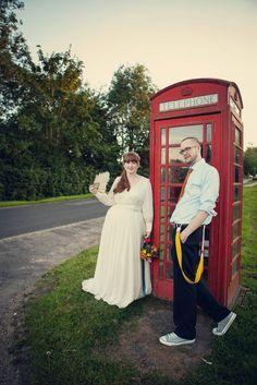 Casamento todo feito pelos noivos e o vestido desenhado pela noiva: Laura & Mike