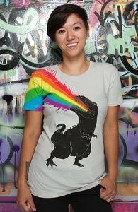 """""""Technicolour Rex"""" - Threadless.com - Die besten T-Shirts auf der Erde"""