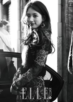 Suzy in the October issue of 'ELLE Korea'