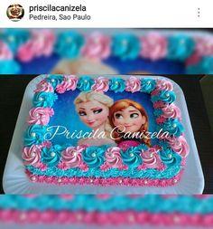 Frozen Themed Birthday Cake, Fairy Birthday Cake, Disney Frozen Birthday, Birthday Cake Girls, 4th Birthday, Frozen Cake, Frozen Party, Olaf Party, Pastel Frozen