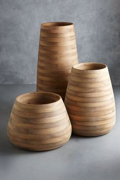 Tuber Planters designed by the renowned South African furniture designer, Haldane Martin for Indigenus. These magnificent planters are crafted from Iroko, a very durable African timber. Concrete Planters, Ceramic Planters, Planter Pots, Planter Liners, Indoor Lanterns, Self Watering Plants, African Furniture, Outdoor Table Lamps, Hanging Hammock Chair