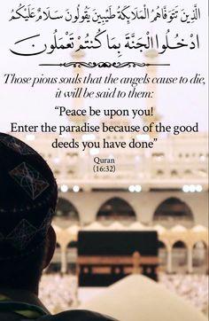 Quran In English, Beautiful Quran Quotes, Allah Love, Good Deeds, Quran Verses, Doa Islam, Peace, Good Things, Sayings