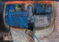 Stem  Barbara Rae Barbara Rae, Abstract Geometric Art, Art Uk, City Art, Art And Architecture, Landscape Art, Painting & Drawing, Contemporary Art, Paintings