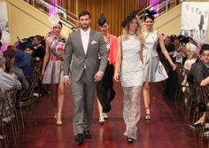 Jennifer Hawkins, Rebecca Judd and Kris Smith Launch the Year of Myer Fashions on the Field Rebecca Judd, Jennifer Hawkins, Spring Racing, Fields, Your Style, Runway, Product Launch, Celebrities, 50th