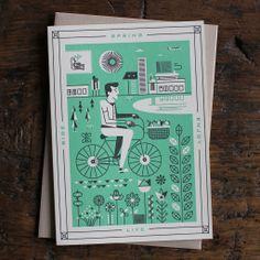 Spring Cards by Martin Azambuja | HOLSTEE