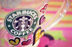 i do love my starbucks coffee.