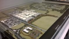 Original Model of Runcorn Shopping City.