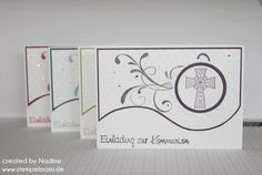 Kommunionkarte Kommunionkarten Stampin up Crosses of Hope 023