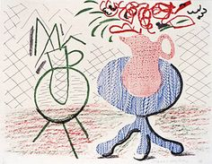 DAVID HOCKNEY : GRAPHICS / Homemade Prints