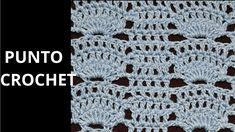 Punto Fantasía N° 66 en tejido crochet tutorial paso a paso.