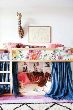 Kura Bett Ikea lebendige Blumen Aufkleberset PACK 5