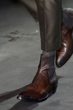 Chelsea Boots Outfit, Gentleman Shoes, Sharp Dressed Man, Cool Boots, Leather Shoes, Men Dress, Haider Ackermann, Men's Shoes, Menswear