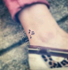 32 music note tattoos to inspire. Make sweet music with these music note tattoo body art designs. A musical note tattoo will perfect your style. Small Music Tattoos, Music Tattoo Designs, Small Tattoo Designs, Music Note Tattoos, Music Wrist Tattoos, Small Ankle Tattoos, Love Music Tattoo, Music Related Tattoos, Music Symbol Tattoo