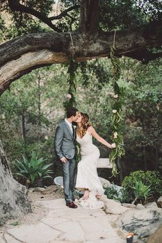 bohemian Ojai wedding - photo by Gina and Ryan Photography http://ruffledblog.com/bohemian-ojai-wedding-at-calliote-canyon