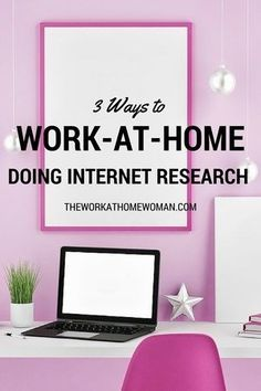 Internet Research is a great way for you to work from home! In fact, there are lots of companies who hire freelancers to do their research for them -- you just need to know where to look.