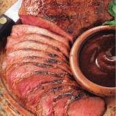 Tri-Tip Roast with Tomato Red Barbecue Sauce