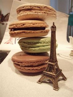 Eiffel Tower and macarons!